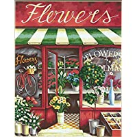 """Paint By Number Kit 11""""X14""""-Flower Shoppe"""