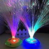 Las luces intermitentes de la descoloración automática colorida que destellan las estrellas del LED del PVC por todas partes 2pcs