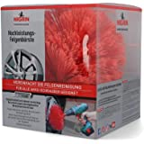 Nigrin 72974 Performance Hochleistungs-Felgenbürste, Twister Reinigungsbürste für Autofelgen, mit 2.000 Hochleistungs-Reinigu