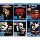 HALLOWEEN Edition Teil 1 2 3 4 5 H20 Michael Myers Collection 6 BLU-RAY Neu
