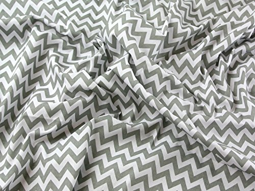 chevron-print-polycotton-dress-fabric-light-grey-per-metre