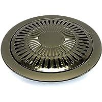 Plaque grill pour réchauds à gaz portable cuisson Grille anti adhesive Récupération graisses