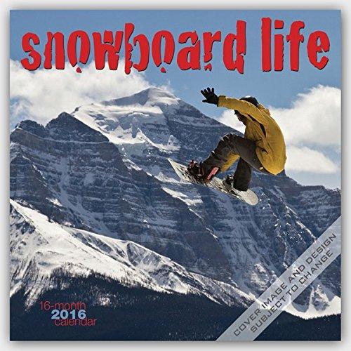 Snowboard Life 2016 - Snowboarden - 16-Monatskalender: Original BrownTrout/Wyman Publishing-Kalender [Mehrsprachig] [Kalender] (Wall-Kalender)