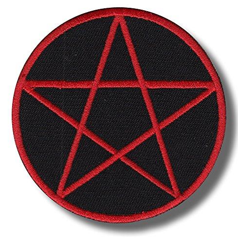 Pentagram - Bestickter Aufnäher, Patch 8x8 cm