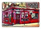 """Irland-Magnet aus Epoxidharz mit der berühmten Dubliner Kneipe """"Temple Bar"""", bekannt für ihren Whiskey"""