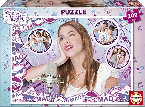 Educa 15855 - Kinderpuzzle Disney Violetta (Violetta Juegos De)