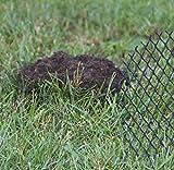 TerraGala Maulwurfgitter, Maulwurfsperre 2,10 x 10m, Schwarz