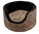 Wouapy Prestige Bucket For Cats, Cat House Leopard