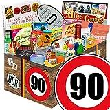 90. Geburtstag | DDR Geschenk | 24 tlg. Geschenk Set DDR