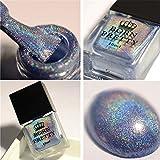 Born Pretty 10ml Holographic Nagellack Holo Glitter Superglanz Nagelkunst (Fliegen in den Himmel)