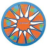 Schildkröt Funsports Schildkröt Neopren Disc, Ø30cm, Weiche Wurfscheibe, Im Blister, Neon-Orange, 970228 Frisbee, Orange Blau