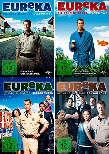 EUReKA: Die geheime Stadt - Die komplette 1. + 2. + 3. + 4. Staffel (17-Disc | 4-Boxen) - 5 Mad Tv-season Dvd
