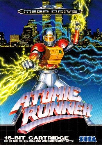Atomic Runner - Megadrive - PAL