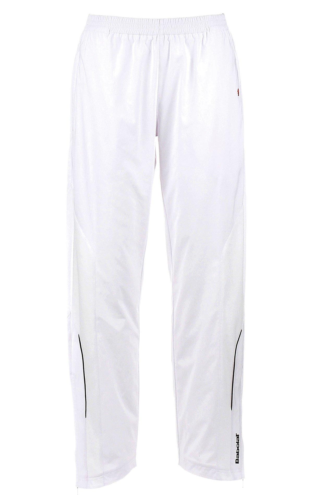 Babolat ragazza pantaloni da tennis Club Bianco