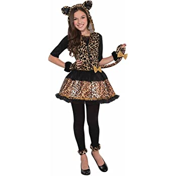 Leapin/' Leopard Cuddly Jungle Cat Costume Halloween Fancy Dress