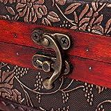 Charminer-Joyero-de-madera-grande-con-espejo-2-capas-maleta-cosmtica-caja-de-joyera-de-madera