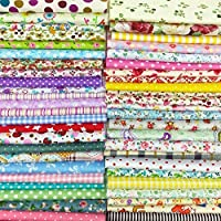 Ankamal Elec 25pcs 30cm * 30cm TOP Tela de algodón Craft Bundle Squares Patchwork Lint DIY