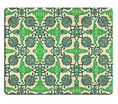 Seamless disegno astratto con fiori Collezioni punktail Custom tropicali Mouse Pad. Panno ecologico di alta qualità con retro in gomma in Neoprene. Personalizzato e ordine. 7/8inch (250mm) X 7/8(200mm) X 1/16