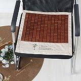 LJ&XJ Verano Oficina Cojín del asiento, Frío La seda del hielo Cojines de sillas de comedor Respirable No congestión Tatami Taburete del estudiante Sofá Banco Interiores Aire libre-C 45x45cm(18x18inch)