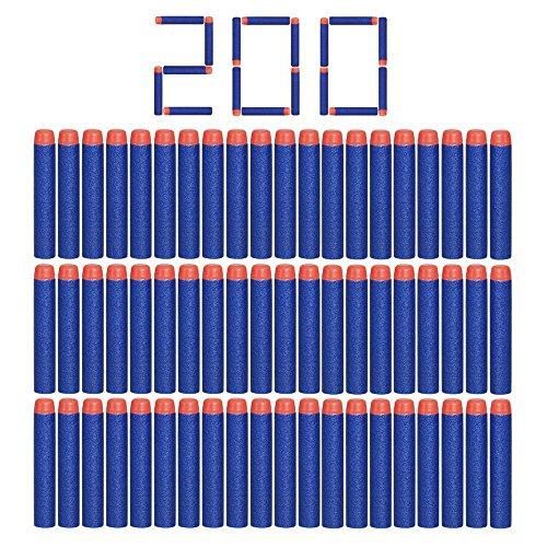 Nerf N-strike 200pcs 7.2cm espuma suave...