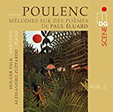 Mélodies sur des poèmes d' Elaurd et Louise de Vilmorin