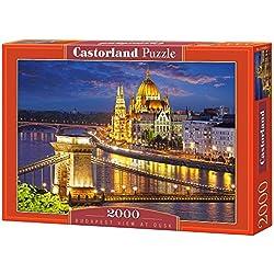 Castorland - C-200405-2 - Puzzle - Vue sur Budapest Au Crépuscule - 2000 Pièces
