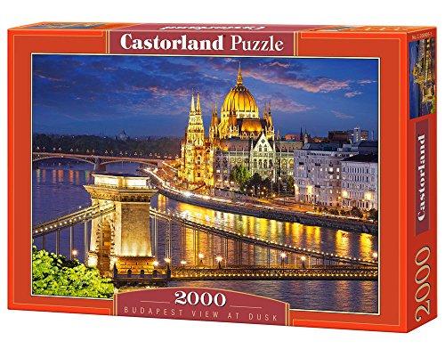 Preisvergleich Produktbild Castorland C-200405-2 - Budapest View At Dusk, 2000-teilig, Klassische Puzzle