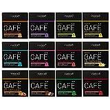 VIAGGIO ESPRESSO - 120 Kaffeekapseln kompatibel mit Nespresso - GROßE SAMMLUNG | Enthält Ristretto Espresso entkoffeiniert Verona Vanille Schokolade Karamell Flavoured Kapselpackung
