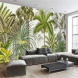 Worryd Fototapete Druck Handgemalte Südostasien Tropischer Regenwald Wohnzimmer Tv Hintergrund Wandbild De Parede 3D, F
