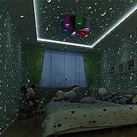 Star Fluoreszierende Wallpaper/Junge Kind Leuchtende Tapete/Kinder Zimmer  Schlafzimmer Tapeten/Decke Lampe