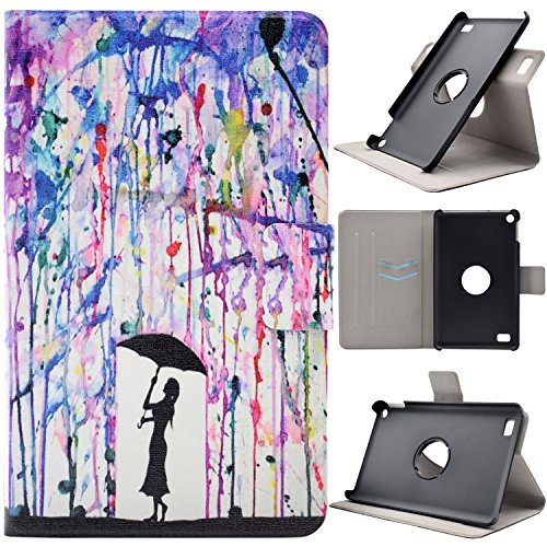 kindle-fire-7-2015-kindle-fire-7-funda-tapa-case-cover-asnlove-carcasa-de-cuero-giratoria-360-grados