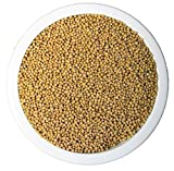 Senfsaat ganz gelb 1 kg 1000 g ~ naturrein ~ gentechnisch unverändert ~ unbegast ~ unbestrahlt ~ PEnandiTRA
