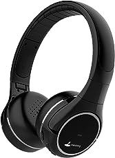 Meidong Bluetooth Kopfhörer, Kabellose Headset Noise Cancelling on Ear Headphones mit Mikrofon Wireless Headphones Surround HiFi Soft Ear Pads 20 Stunden Spielzeit
