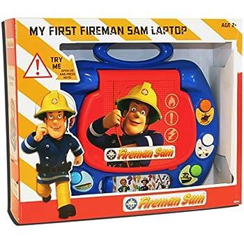 sam le pompier mon premier ordinateur portable sam le pompier langue anglaise import uk. Black Bedroom Furniture Sets. Home Design Ideas