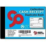 Cherry Carbonless NCR Cash Receipt Duplicate Book A6 50 Sets