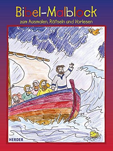 Bibel-Malblock: zum Ausmalen, Rätseln und Vorlesen