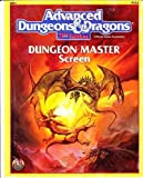 Dungeon Master Screen (Advanced Dungeons & Dragons Accessory REF1) by Wizards of the Coast (September 01,1999)