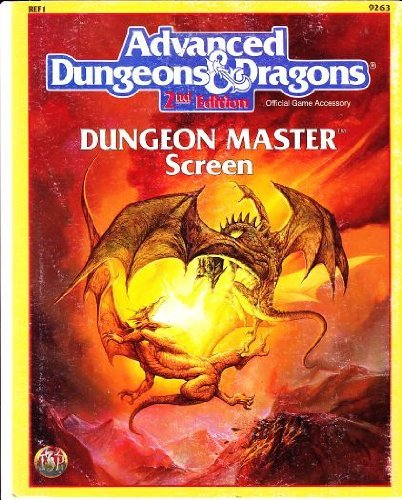 Dungeon Master Screen (Advanced Dungeons & Dragons Accessory REF1) by Wizards of the Coast (September 01,1999) PDF Books