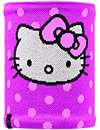 BUFF CHILD Neckwarmer tricoté avec laine polaire HELLO DOTS / RASPBERRY
