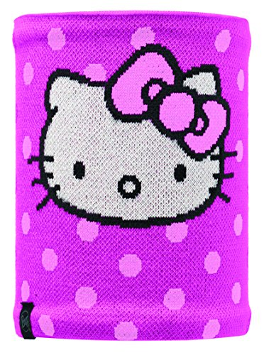 Buff Kinder Multifunktionstuch Kitty Polar Neckwarmer Hello Dots, One Size