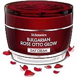 StBotanica Bulgarian Rose Otto Glow Day Cream | SPF 30 | UVA | UVB Protection, Brightening & Nourishing - 50g
