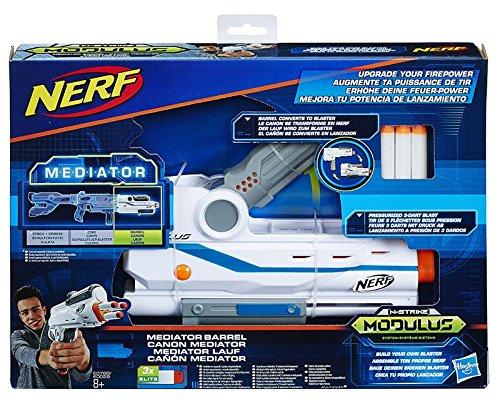 Hasbro Nerf Modulus Mediator Barrel - Armas de Juguete (Pistola de Juguete, 8 año(s), Niño,, plástico, Nerf Modulus)