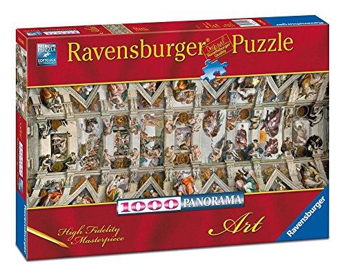 Puzzle Panorama Kaplica Sykstynska 1000