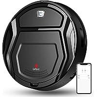 LEFANT Saugroboter, Robot Staubsauger, Upgrade 6D Kollisionssensor, 1800pa WiFi/App/Alexa, Selbstaufladung, Super leiser…