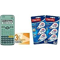 Casio FX-92+ Calculatrice Scientifique Spéciale collège & BIC 962703 Lot de 6 Mini Pocket Mouse Rubans Correcteurs