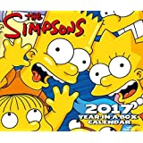 The Simpsons Official 2017 Desk Block Calendar (Box)