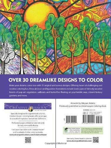 Creative Haven Dreamscapes Coloring Book (Creative Haven Coloring Books)