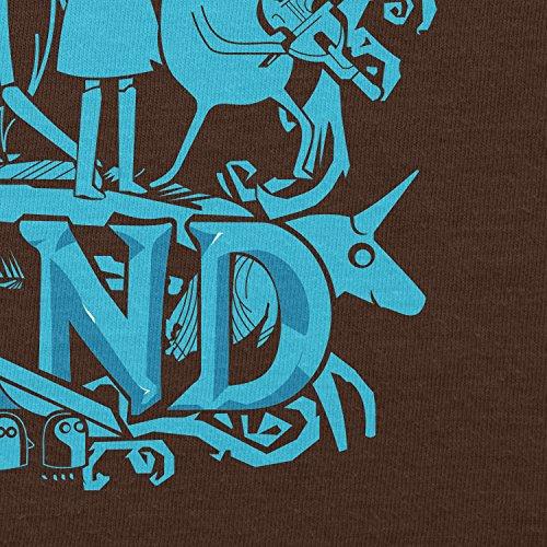 Texlab–Genuine Band–sacchetto di stoffa Marrone