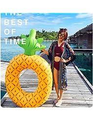 Large Pineapple Swim Ring Anillo de natación inflable adulto Este producto no contiene inflador