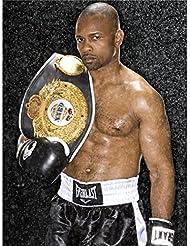 Roy Jones Jr Poster On Silk <35cm x 47cm, 14inch x 19inch> - Cartel de Seda - C5DCC0